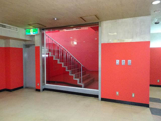 表入口階段スペース